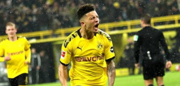 """""""Dortmund y United acercan posturas por Sancho./ Foto: AS"""""""