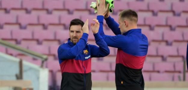 El desprecio de Messi a Ter Stegen y su nuevo guiño al PSG