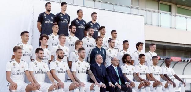 Plantilla del Real Madrid 2018-19 / RMCF.
