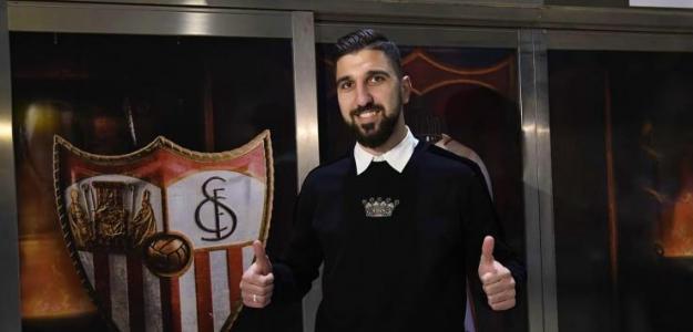 Munas Dabbur, tras fichar por el Sevilla FC / Facebook.