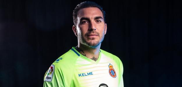 Roberto, en una foto oficial (RCD Espanyol)