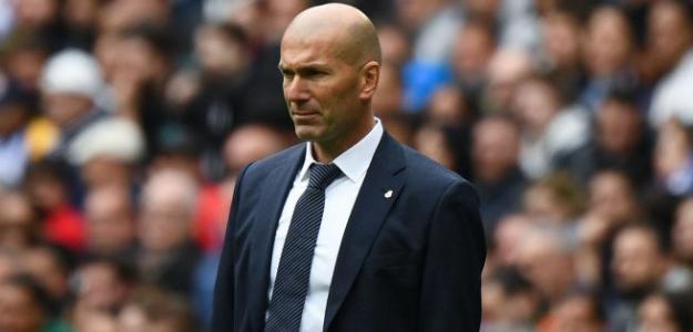 Zidane en un partido con el Madrid / Real Madrid