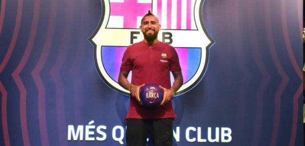 Arturo Vidal (FC Barcelona)