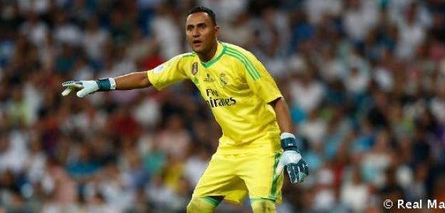 Keylor Navas en un partido / Real Madrid