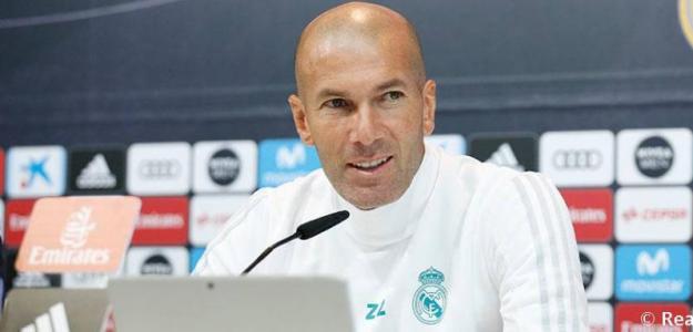 Zidane en rueda de prensa / Real Madrid