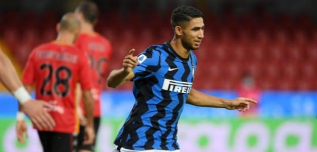 Achraf ya brilla con el Inter de Milán