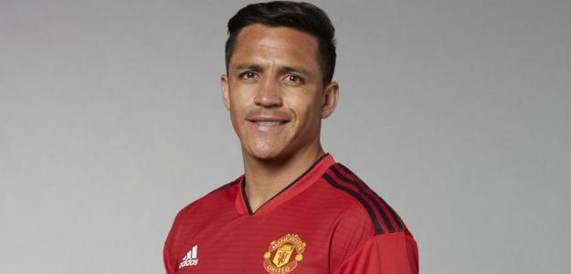 Alexis Sánchez, jugador del Manchester United. Foto: Manutd.com