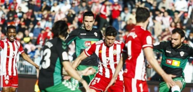 """""""El Almería sufre los límites de LaLiga. Foto: LaLiga"""""""