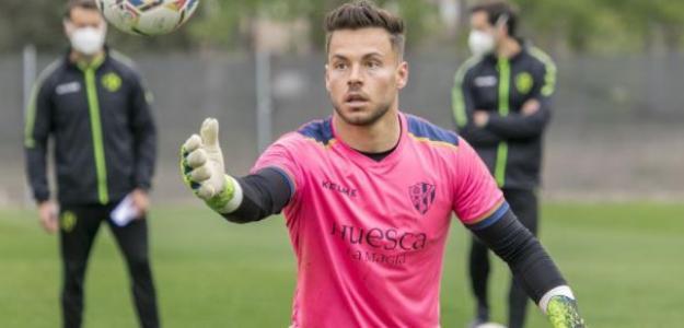 """Álvaro Fernández y el sueño de jugar en Primera División: ¿Qué equipo le pretende? """"Foto: Mundo Deportivo"""""""