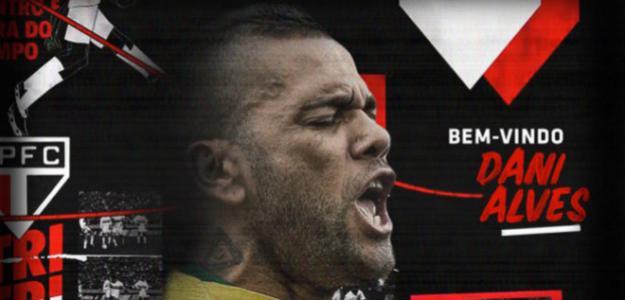 El Sao Paulo anuncia el fichaje de Dani Alves / Twitter