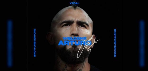 Arturo Vidal ya es jugador del Inter de Milán