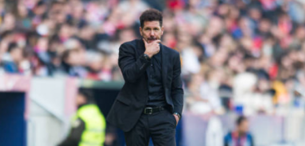 """""""Las tres opciones para la delantera del Atlético de Madrid. Foto: Getty Images"""""""