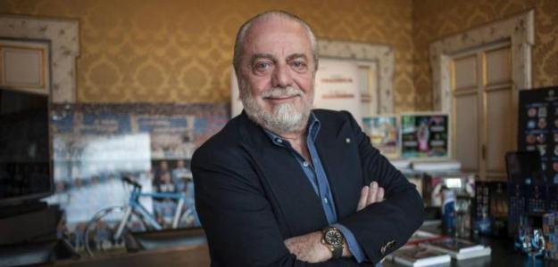 Aurelio Di Laurentiis, presidente del Nápoles. Foto: Elpais.com