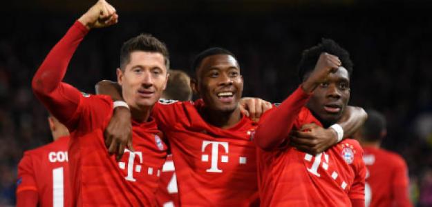 """""""El once que formará el Bayern para el próximo año. Foto: Getty Images"""""""