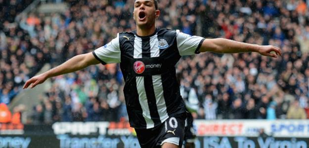 Hatem Ben Arfa celebra un gol con el Newcastle/ Lainformacion.com