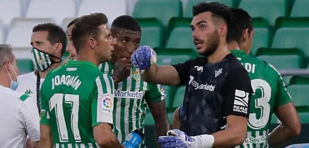 El Real Betis 'coloca' a dos descartes en el Real Zaragoza. Foto: ABC