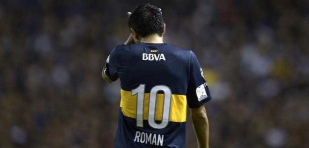 Riquelme en un partido de Boca Juniors. / entretenimiento.band.uol.com.br
