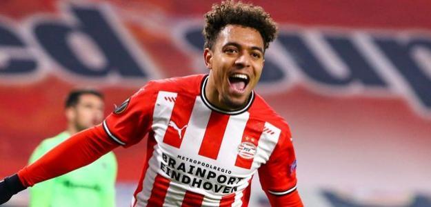 Donyell Malen abandonará el PSV. Foto: Getty