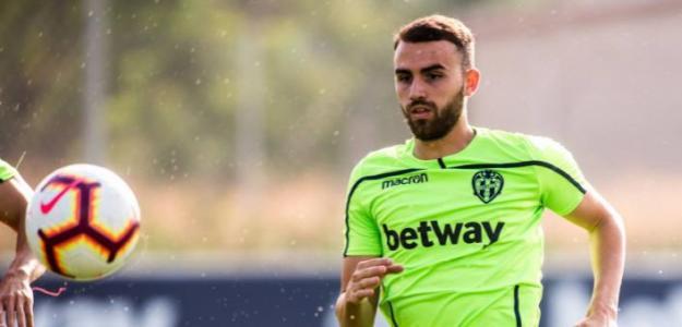 Borja Mayoral admite el interés de la Real Sociedad en su fichaje / Levante UD