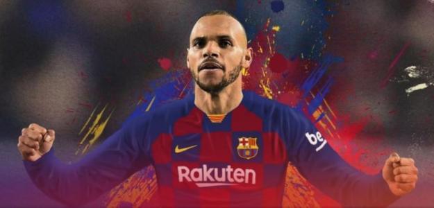 OFICIAL: Martin Braithwaite es nuevo jugador del Barcelona
