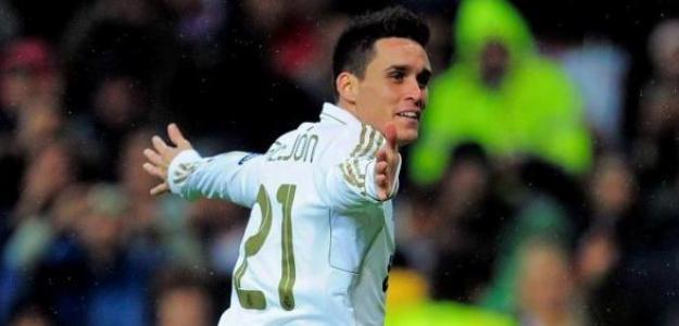 José Callejón celebra un gol con el Real Madrid/lainformacion.com/Getty Images