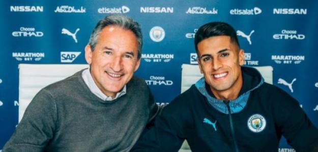 Joao Cancelo, nuevo jugador del Manchester City / Manchester City