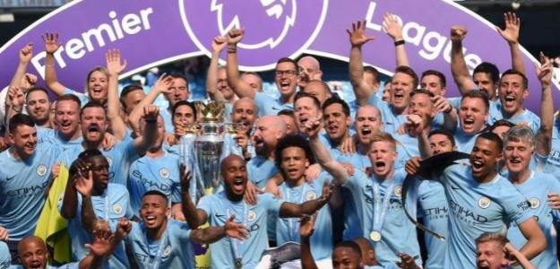 El City celebrando la Premier. / eluniverso.com