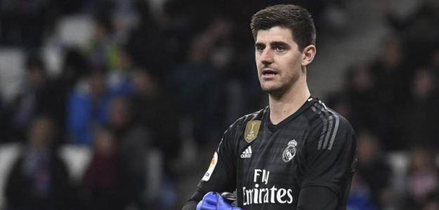Courtois estalla ante su situación en el Real Madrid / Elpais.com