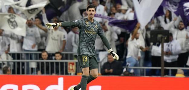 Courtois bate dos récords históricos con el Madrid   MARCA