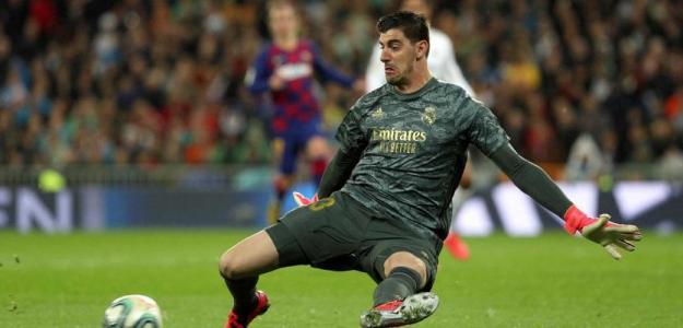 Courtois vuelve al Real Madrid lesionado / RTVE.es