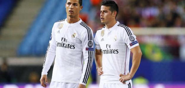 Cristiano intenta que James Rodríguez fiche por la Juventus / Imago.