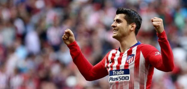 El Atlético de Madrid fichará a Álvaro Morata en junio de 2020 (ATM)