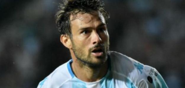 """Darío Cvitanich, una salida prácticamente confirmada de Racing """"Foto: lacomuderacing.com"""""""
