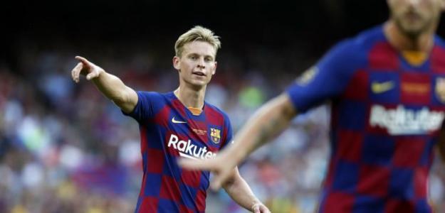 La sorprendente renovación de Frenkie de Jong con el Barcelona