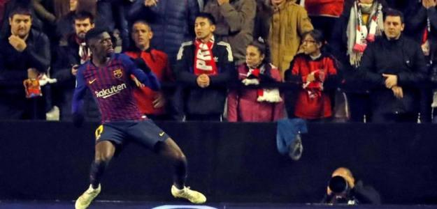Dembélé podría acabar en Anfield.