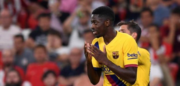 El Barça quiere incluir a Dembélé en su última oferta. Foto: Reuters
