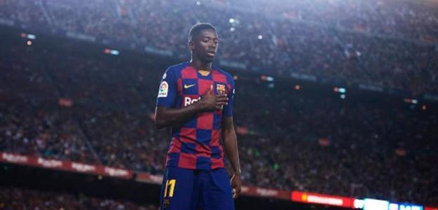 Dembélé se gana su renovación con el FC Barcelona