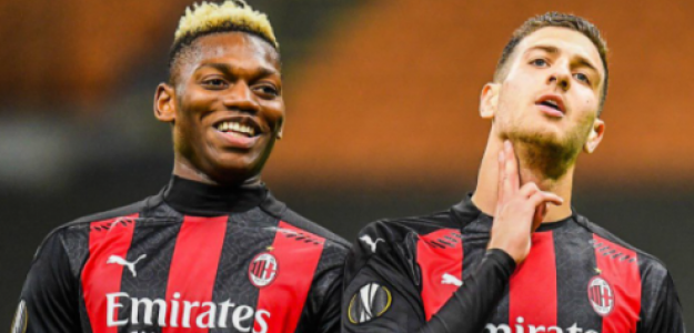 """La situación del AC Milan que quiere aprovechar el Nápoles """"Foto: Twitter"""""""