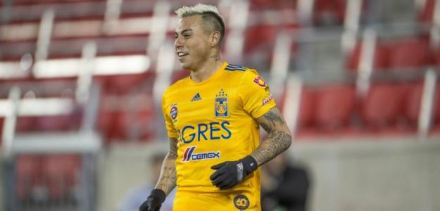 Eduardo Vargas es una de las opciones para el ataquede Boca | FOTO: TIGRES