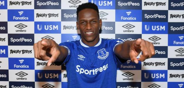 El Everton pone precio a Yerry Mina / Skysports.com