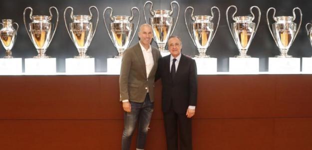 El nuevo problema entre Zidane y el Madrid por el futuro de Brahim / Twitter