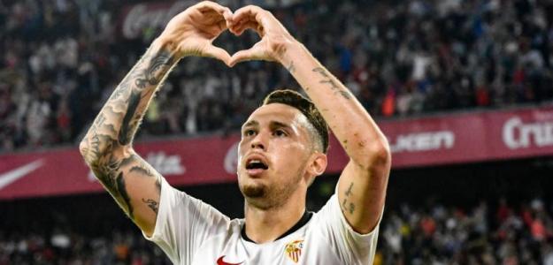 El Sevilla podría perder a Ocampos el próximo verano / Sevillafc.es