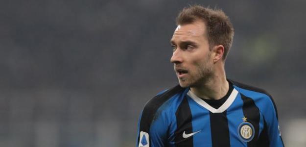 La inesperada pesadilla de Christian Eriksen en el Inter de Milán