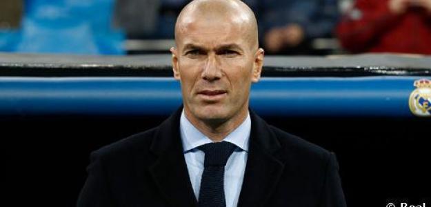 Zinedine Zidane, durante un partido / Real Madrid.