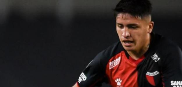 """La perla del fútbol argentino por la que pelean Juventus y Flamengo """"Foto: TNT Sports"""""""