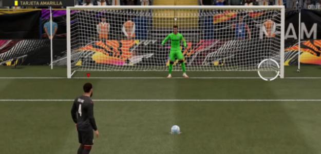 """FIFA 21: la nueva técnica para tirar penaltis con efectividad 100% """"Foto: AS"""""""