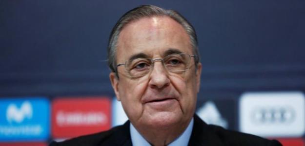 Florentino Pérez, en rueda de prensa / twitter