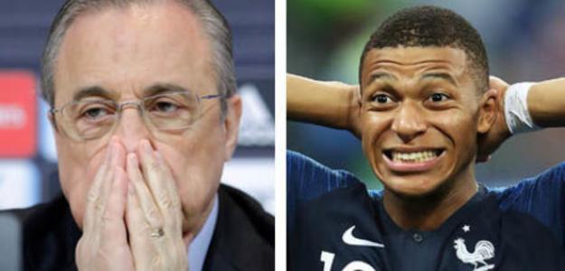 El Real Madrid, obligado a cambiar de estrategia por Mbappé. Foto: Daily Mail