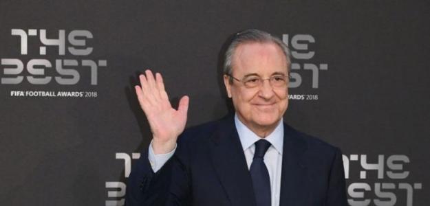 Florentino Pérez en los premios 'The Best' / Real Madrid