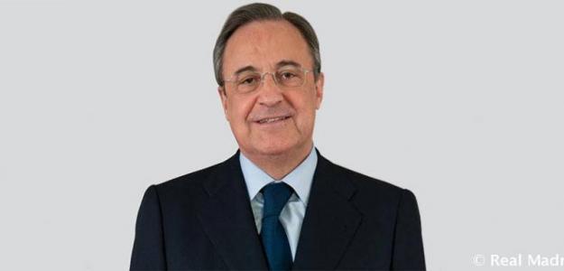 Florentino Pérez, presidente del Real Madrid. Foto: RealMadrid.com